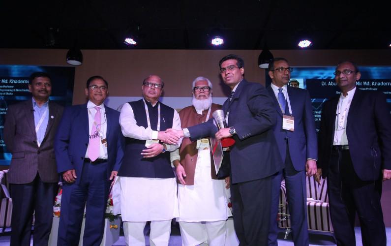 Samson award to Professor Dr. ABMM Khademul Islam fir his outstanding achievements