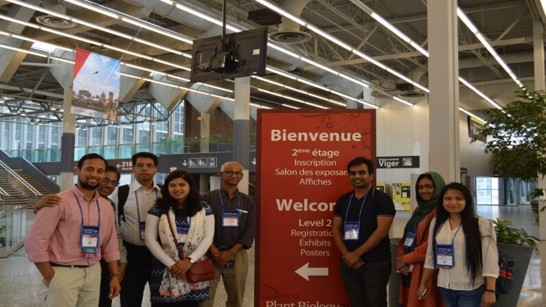 Vibrant Presence of Bangladeshi origin Scientists at the American Society of Plant Biology Conference