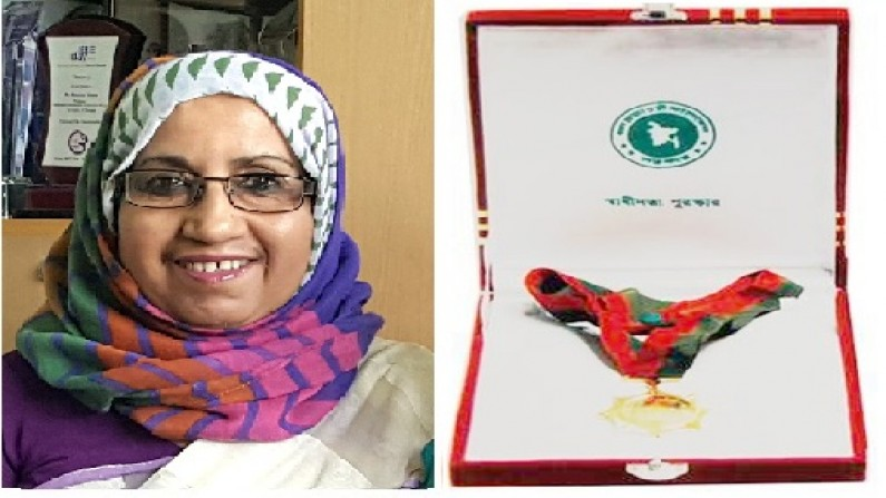 Heartiest congratulations to Dr. Haseena Khan for the Independence Award 2019